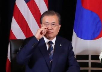 문 대통령 지지율 2주 연속 상승...한미정상회담 영향